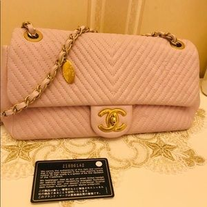 Chanel Classic Bag Cuba Collection Light Pink